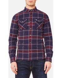 Superdry - Refined Lumberjack Shirt - Lyst
