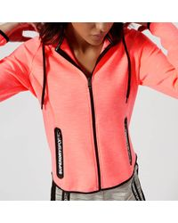 Superdry - Gym Tech Luxe Zip Hoody - Lyst