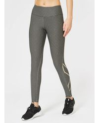 2XU - Printed Mid Rise Compression Tights - Lyst