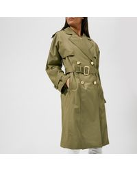 Michael Kors - Wide Sleeve Trench Coat - Lyst