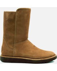 UGG - Abree Short Ii Classic Luxe Sheepskin Boots - Lyst