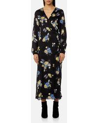 Gestuz - Women's Aia Flower Maxi Dress - Lyst