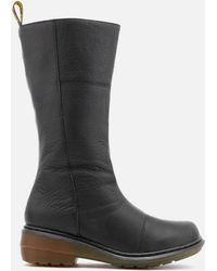 Dr. Martens - Charla Broadway High Boots - Lyst