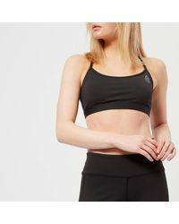 Reebok - Crossfit Skinny Sports Bra - Lyst