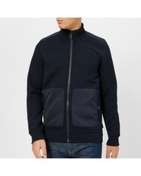 Ted Baker - Narn Quilted Funnel Neck Jacket - Lyst