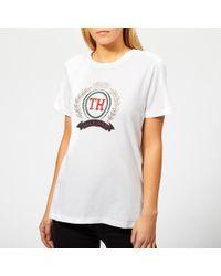 Tommy Hilfiger - Merina Crew Neck T-shirt - Lyst