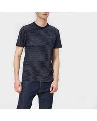 Lacoste - Geometric Dot Print T-shirt - Lyst