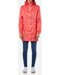 Joules - Golightly Plain Waterproof Packaway Jacket - Lyst