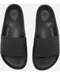 HUNTER - Original Moustache Slide Sandals - Lyst