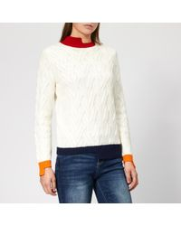 Armani Exchange - Knitted Pullover Jumper - Lyst