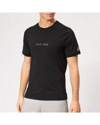 ffa46f4dd Lyst - Nike Sportswear Tech Knit Black Black Pocket T-shirt 729397 ...
