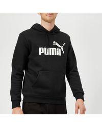 PUMA - Essential Big Logo Hoody - Lyst