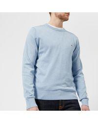 Tommy Hilfiger - Cotton Silk Crew Neck Knitted Jumper - Lyst