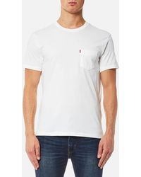 Levi's - Short Sleeve Set-in Sunset Pocket T-shirt - Lyst