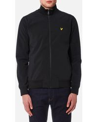 Lyle & Scott Zip Through Funnel Neck Soft Shell Jacket
