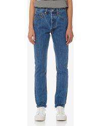 Levi's - 501 Skinny Jeans - Lyst