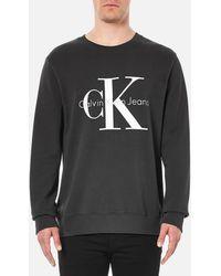 Calvin Klein - 90's Re-issue Sweatshirt - Lyst