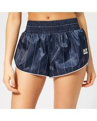 Ivy Park Active Baseball Stripe Shorts - Blue
