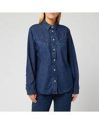 Levi's Dori Western Shirt - Blue