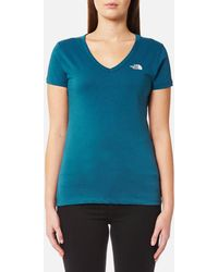 The North Face - Short Sleeve Simple Dome T-shirt - Lyst