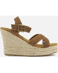 Superdry - Isabella Wedged Espadrilles - Lyst
