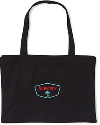 The Idle Man - Nowwhere Tree Tote Black - Lyst