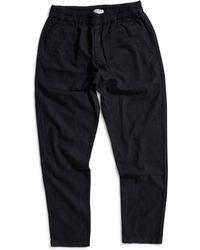 Folk - Linen Trousers Black - Lyst