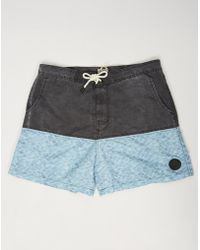 Bellfield - Skye Swim Shorts Black - Lyst