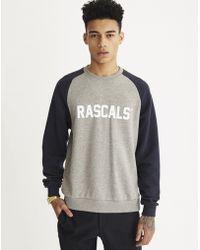 Rascals - University Crew Grey - Lyst