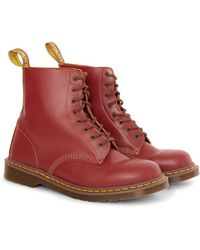 Dr. Martens - Made In England Vintage 1460 Boot Burgundy - Lyst