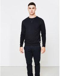 Lee Jeans - Crew Neck Sweatshirt Black - Lyst
