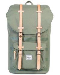 Herschel Supply Co. - Offset Little America Backpack Green - Lyst