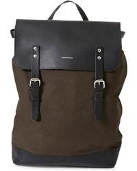 Sandqvist - Hege Backpack Grey - Lyst