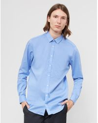 Vito - Solo Shirt Light Blue - Lyst