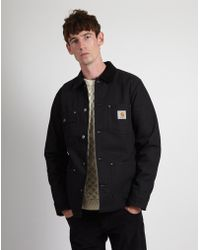 Carhartt WIP - Michigan Chore Coat Black - Lyst