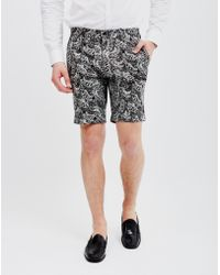 Vito - Mady Jef Shorts Black - Lyst