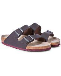 Birkenstock - Arizona Sandal Dark Brown - Lyst