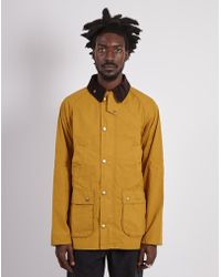 Barbour - Made For Japan Washed Slim Bedale Cumin - Lyst