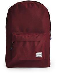 Herschel Supply Co. - Classic Backpack Burgundy - Lyst