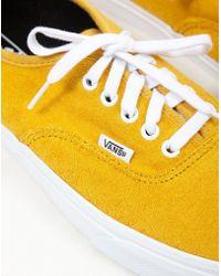 bbf1c671a5 Vans Old Skool Trainers Gum Sole Orange in Orange for Men - Lyst