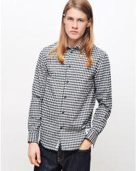 WOOD WOOD - Greco Shirt Check - Lyst