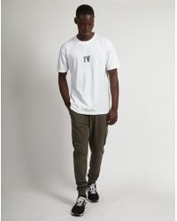 The Idle Man - Basic Jogger Green - Lyst