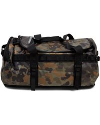The North Face - Base Camp Duffel Bag Xs Green Print - Green - Lyst