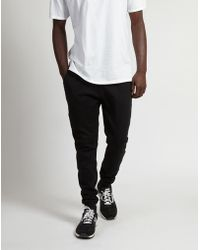 The Idle Man - Basic Jogger Black - Lyst