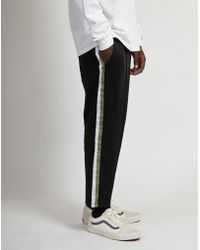 The Idle Man - Football Track Trousers Black - Lyst