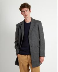 Folk - Three Four Coat Grey Melange - Lyst