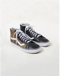 Lyst - Urban Outfitters Era 59 Canvas Leopard Lined Mens Sneaker in ... 9aaa9e8101