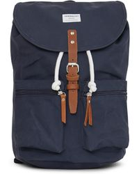 Sandqvist - Backpack Roald Blue - Lyst