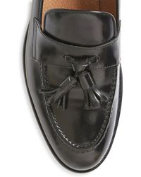 The Idle Man - Leather Loafer Black - Lyst