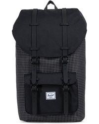 Herschel Supply Co. - Little America Backpack Grid Black - Lyst